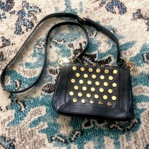 VINTAGE TORY BURCH LINDEN STUDDED CROSSBODY